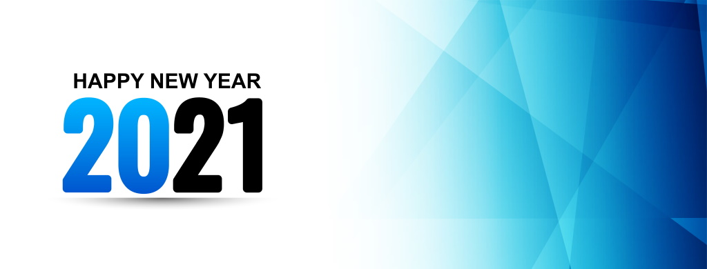 Happy New Year Banner 2021 Component7