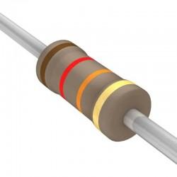 12K Ohm Resistor 1/4 Watt ±5% Tolerance