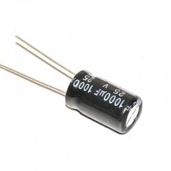 1000uF 25V Aluminium Electrolytic Capacitor