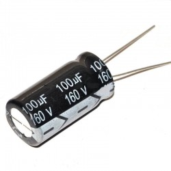 100uF 160V Aluminium Electrolytic Capacitor