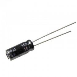100uF 16V Aluminium Electrolytic Capacitor