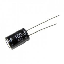 100uF 50V Aluminium Electrolytic Capacitor