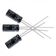 10uF 50V Aluminium Electrolytic Capacitor