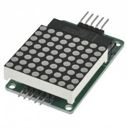 Dot Matrix Module -MAX7219 For Arduino