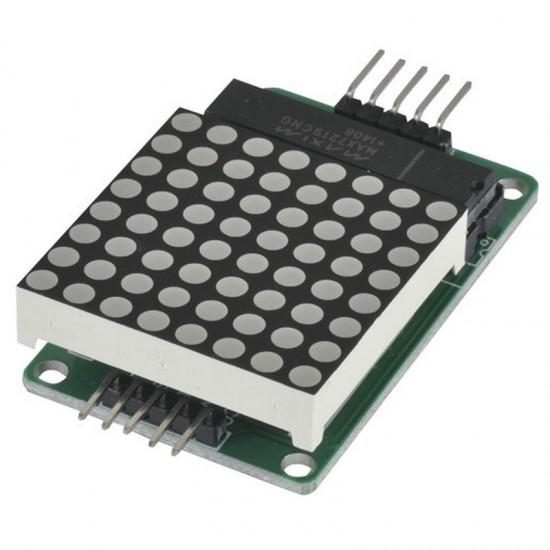MAX7219 8x8 LED Dot Matrix Display Module For Arduino