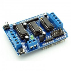 L293D motor control shield for Arduino