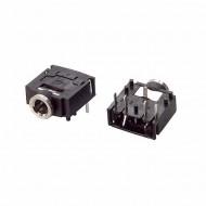 3.5mm PCB Mount Stereo Socket -Stereo Jack Female