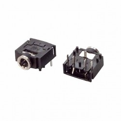 3.5mm PCB Mount Stereo Socket -Stereo Jack Female