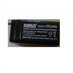 4.0Volt, 0.5AH/500mah Rechargeable Lead Acid Battery
