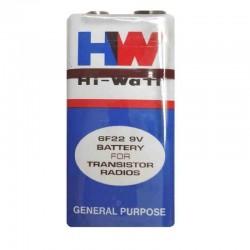 9 Volt Battery-HW Long Life Battery