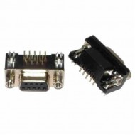 DB9 Female Connector Right Angle (PCB Mounting)