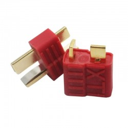 T Plug Connector Male-Female