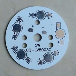 5 Watt SMD LED Heat Sink Base Plate
