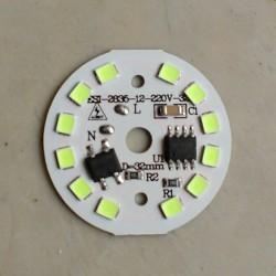 5 Watt DOB SMD LED with Heatsink-Green LED