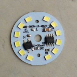 5 Watt BOB SMD LED with Heatsink-White LED