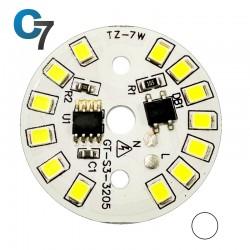 7 Watt DOB SMD LED with Heatsink-White LED