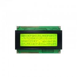 20x4 Character LCD Display (Yellow Green)