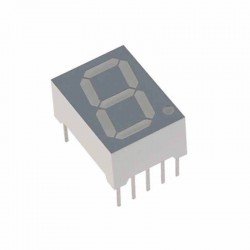 0.56 inch Seven Segment Display (Red, Common Cathode)