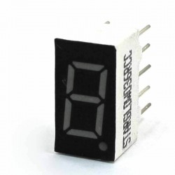 1 inch Seven Segment Display (Red, Common Anode)