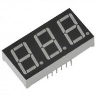 3 Digit Seven Segment Display Common Cathode (Red)-0.56 Inch