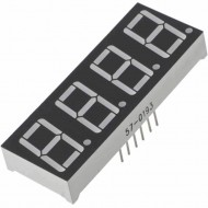 4 Digit Seven Segment Display Common Anode (Red)-0.56 Inch