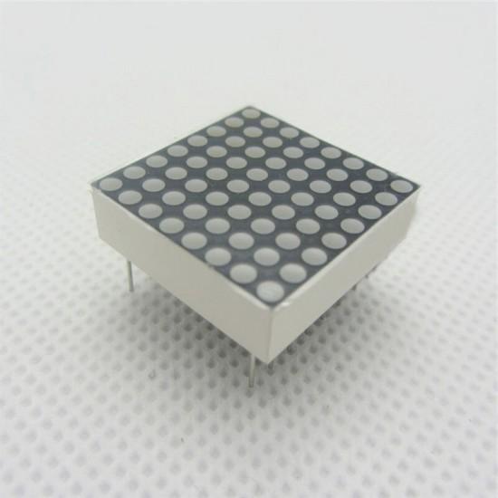 8X8 Dot Matrix Led Display Column Cathode Red and Green- 60mmX60mm