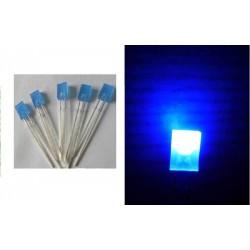 2x5x7 mm Rectangle Blue LED