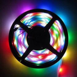 Non Waterproof 3528 Multi Color SMD LED Strip Lights (5 Meter)