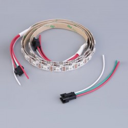 WS2812B RGB Smart Neo Pixel LED Strip-30 LED-1 Meter-IP 30