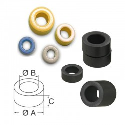 Ring Toroids Ferrite Core-10mmX6mmX4mm