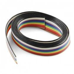 10 Core Rainbow Wire 1Meter
