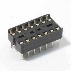 14 Pin IC Base (DIP Socket)