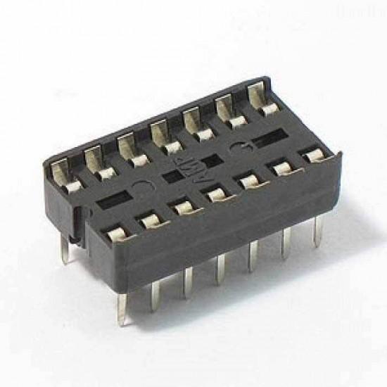 14 Pin IC Base (DIP Socket)