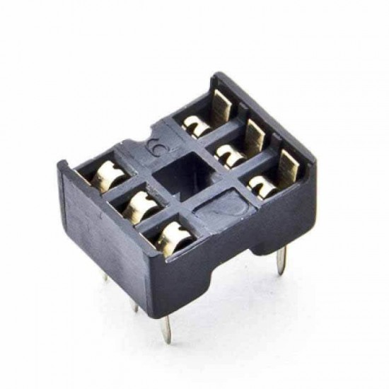 6 Pin IC Base (DIP Socket)