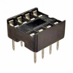 8 Pin IC Base (DIP Socket)