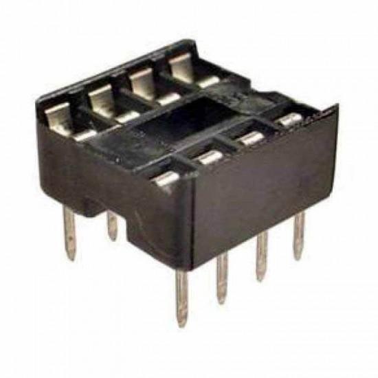8 Pin IC Base (DIP Socket)