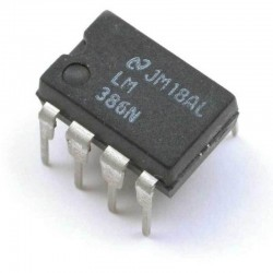 LM386 - Low Voltage Power Amplifier