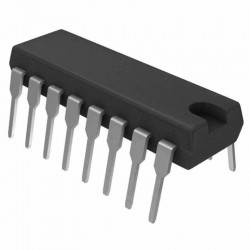 CD4511/MC14511BCP - BCD To 7 Segment Latch Decoder Driver