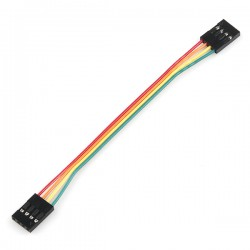 4 PIN Female To Female Dual Jumper Wire