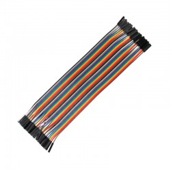 40 Pin Female to Female Jumper Wires