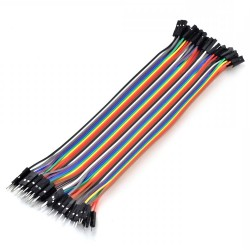 40 Pin Male to Feamle Jumper Wires