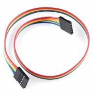 5 PIN Female To Female Dual Jumper Wire