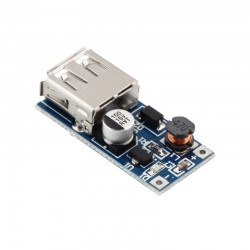 DC-DC Step-Up Module - (0.9V~5V) to 5V 600MA USB (Portable Charger)