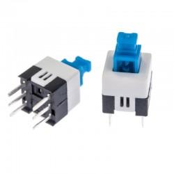 6 Pin DPDT Push Switch Non Locking