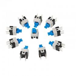 6 Pin DPDT Push Switch Self Locking