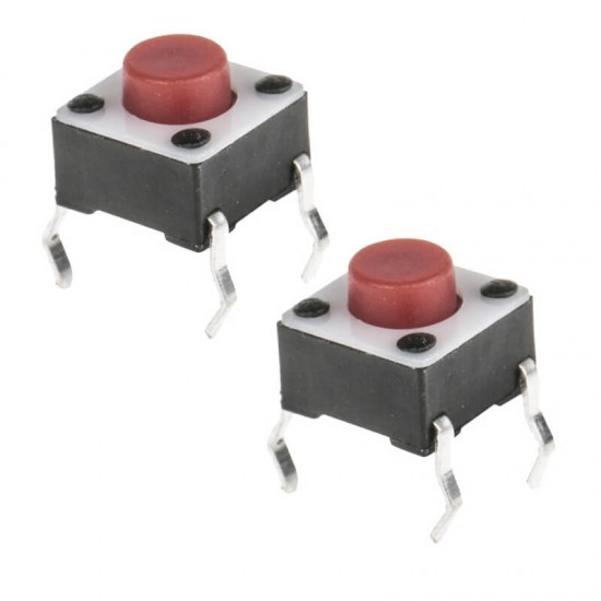 6mm Pushbutton (4 pin Tactile-Micro) Switch - Small