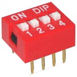 Dip Switch - 4 way