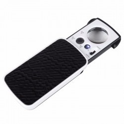 30x 60x 90x Pocket Jewellery Magnifier Currency Detecting With UV Light
